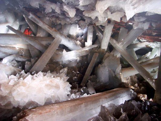 Peștera Cristalelor din Mexic