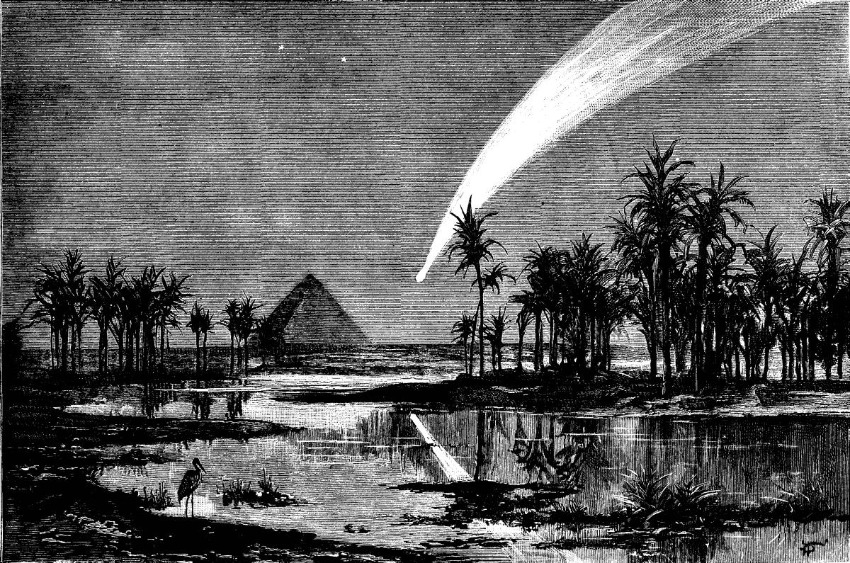 Cometa Egipt